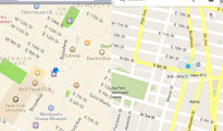 A comparison between the Google and Apple Maps Service