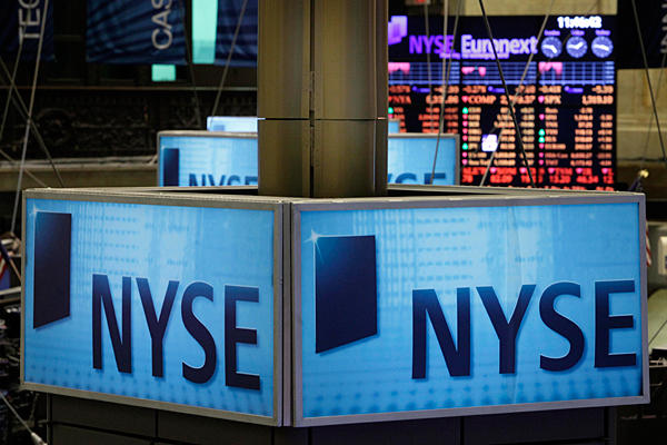 Trading Comes To A Halt On The New York Stock Exchange