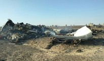 Russian Flight Wreckage