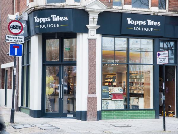 Topps Tiles Boutique