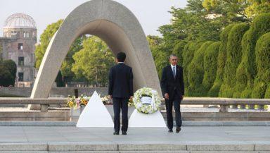 Barrack Obama & Shinzo Abe