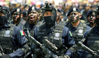 The Gendarmerie in Mexico.