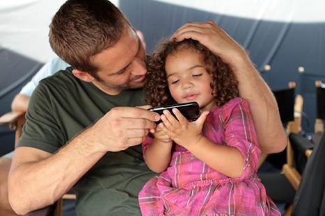 Paul Walker with Vin Diesels older daughter.