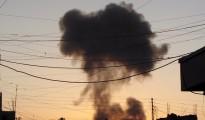 Cloud Of Smoke Over Ramadi